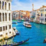 Fotomontaje de paisaje en Venecia