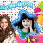 Fotomontaje de Feliz Cumpleaños Soy Luna