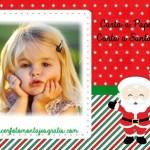 Carta a Santa Claus o Papá Noel con foto