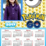 Fotomontaje Calendario 2017 Pokémon GO