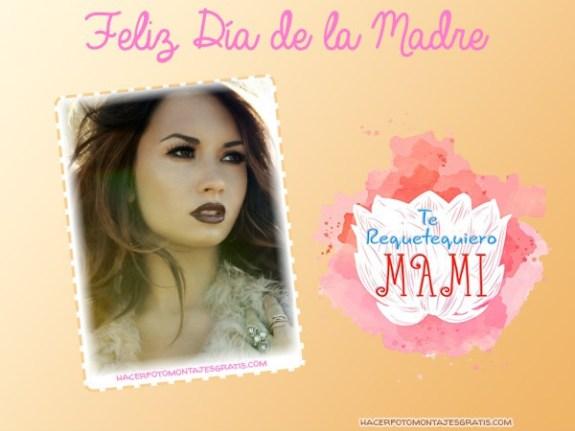 Feliz Dia de la Madre fotomontajes - efectos para fotos dia de la madre