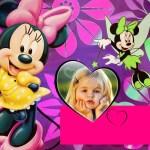 Montaje de fotos con Minnie hadita