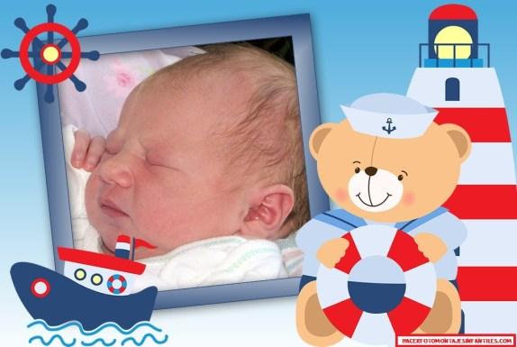 Fotomontajes para fotos de bebes