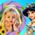 Fotomontaje infantil de Jasmín