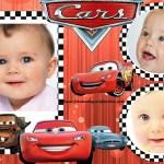 Fotomontaje de Cars para tres fotos