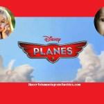 Fotomontaje de Aviones Disney para dos fotos
