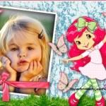 Fotomontaje infantil de Frutillita