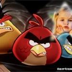 Fotomontaje para niños de Angry Birds