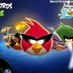 Fotomontaje gratis con Angry Birds