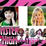 Fotomontaje de Monster High para dos fotos