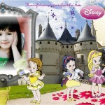 Fotomontaje de Princesas bebés en castillo