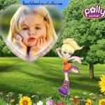 Fotomontaje infantil de Polly Pocket