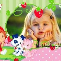 Fotomontaje con frutillita bebé