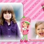 Fotomontaje de Frutillita para dos fotos