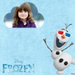 Fotomontaje de Olaf Frozen