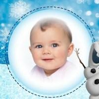 Fotomontaje de Olaf gratis