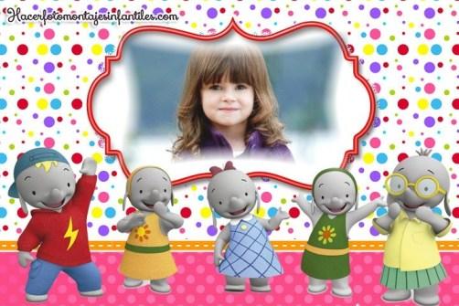 Fotomontaje de Ella la Elefanta
