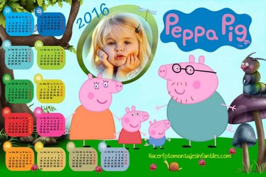 Fotomontaje de Peppa Pig con foto para personalizar