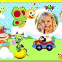Fotomontaje de Baby TV para editar gratis