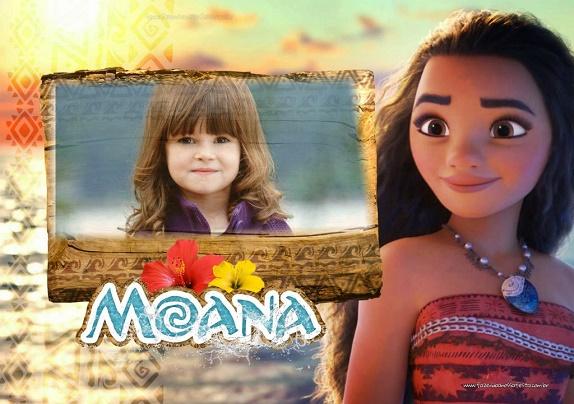 Fotomontajes de Moana Disney - Marcos de Moana para fotos - imagenes de Moana