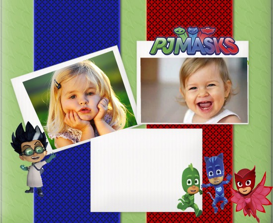 Photo frames Pj Masks