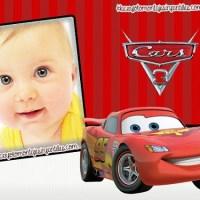Fotomontaje de Cars 3 con Rayo McQueen