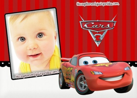 Cars photo frame