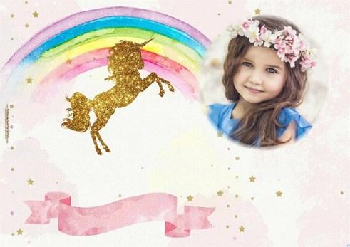 efectos para fotos con unicornios