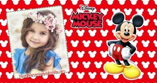 Mickey frames - mickey efectos para fotos