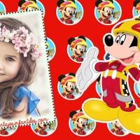 Fotomontajes de Mickey sobre Ruedas