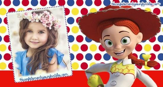 Editar fotos Toy Story 4 Jessy