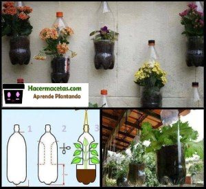 pasos para realizar tus macetas recicladas
