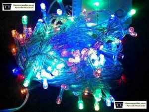 luces led en luces de navidad para macetas