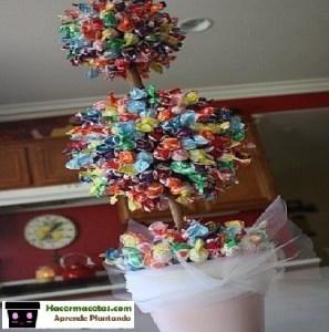 árbol de chupetas
