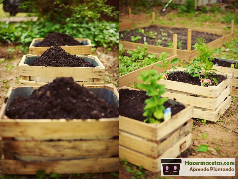 Macetas de madera las ideas mas cheveres para macetas de for Astillas de madera para jardin