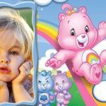 Marco para foto infantil de ositos cariñositos