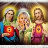 Marco de la Virgen María y Jesús