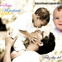 Marco del Día del Padre para fotos