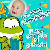 Marco para Cumpleaños de un hijo
