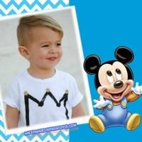 Marcos de Mickey Baby para editar Fotos