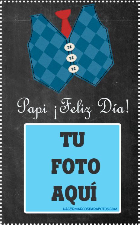 Papa Feliz Dia fotomontajes