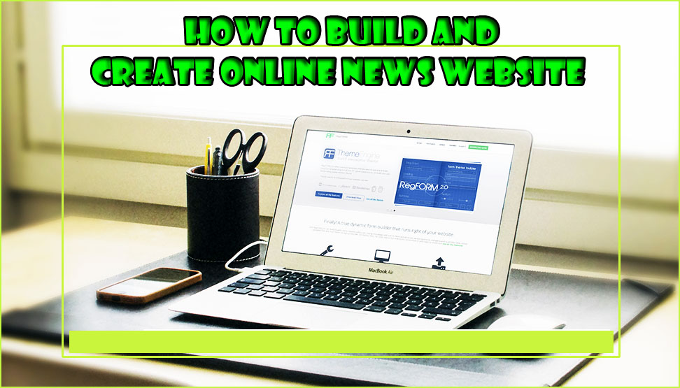 build online newspaper