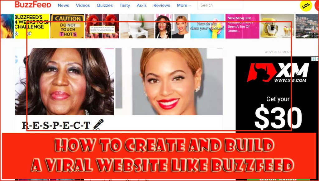 How to Make a Viral Website Like Buzzfeed, LADBible