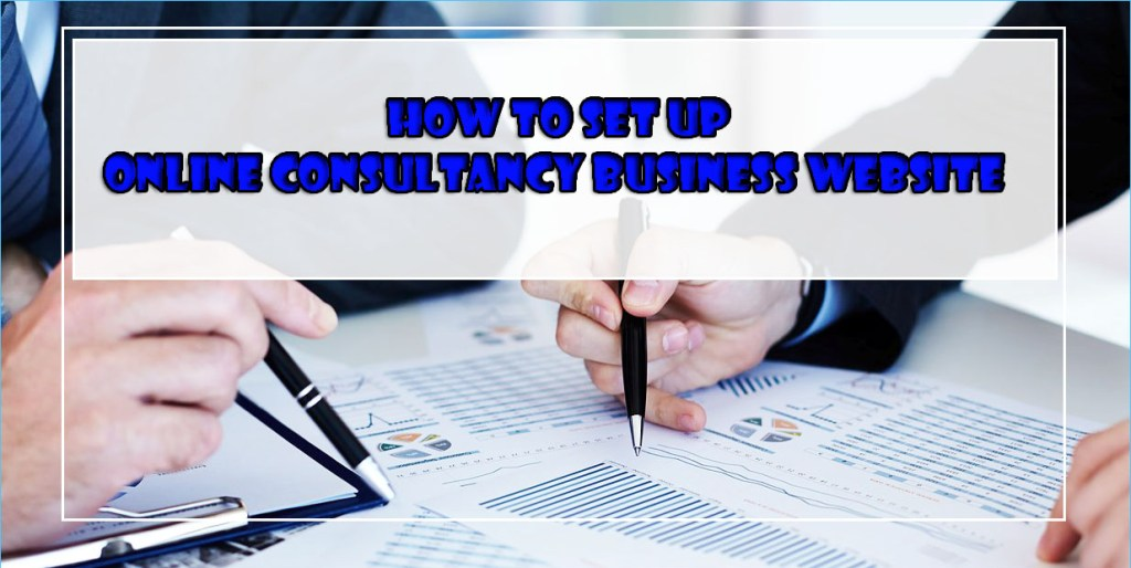 how to set up online consultancy business website