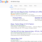 searchning for niche blg