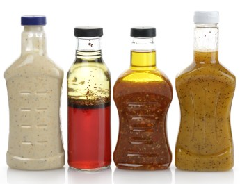Assorted Salad dressings