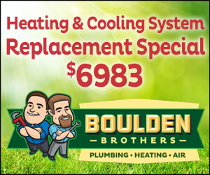 Boulden Brothers Heating and Cooling System Replacement Special $6983