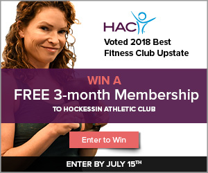 HAC Voted 2018 Best Fitness Club Upstate