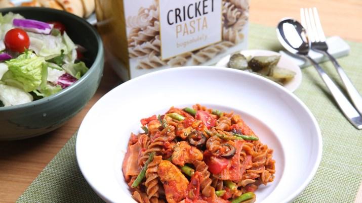 Cricket Pasta