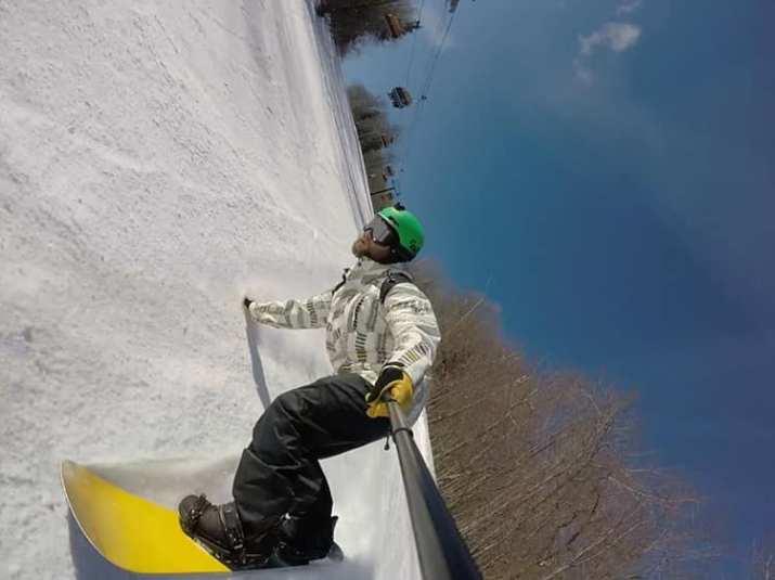Graham snowboarding